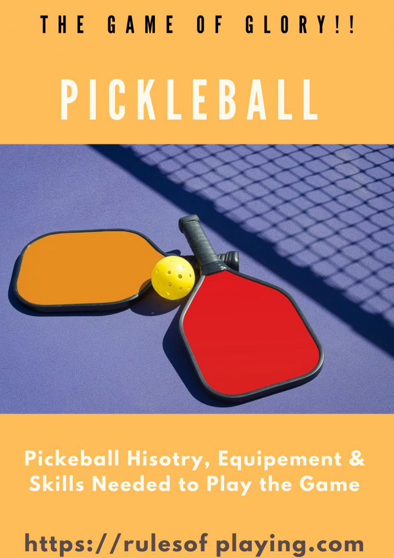 Pickle Ball History, Equipment & Objectives