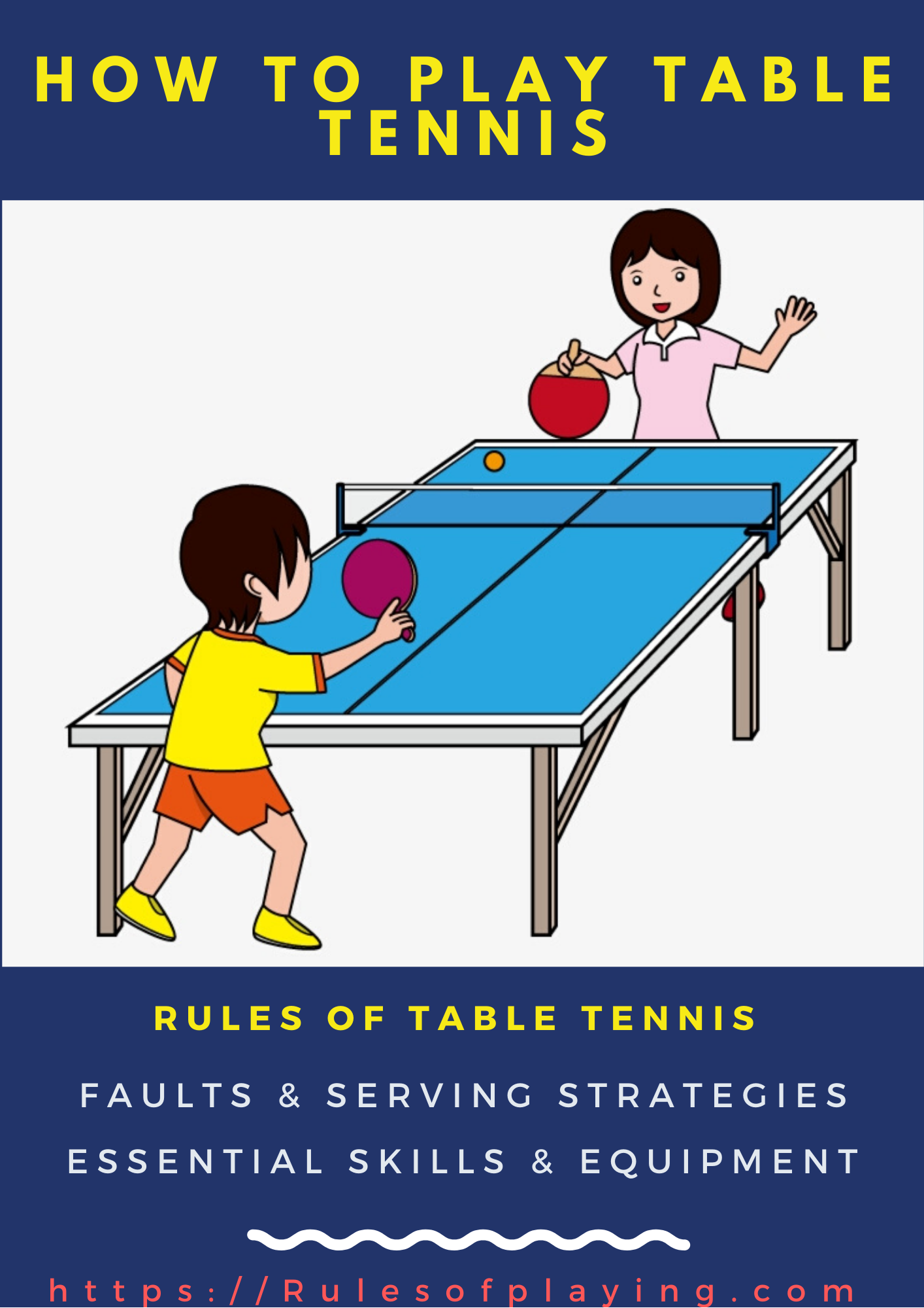 Table Tennis (Ping Pong) Rules & Regulation Guide