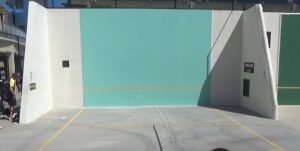 Racquetball Court For Outdoor Playing