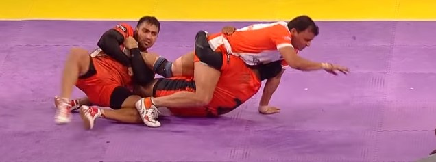 Struggle in Kabaddi