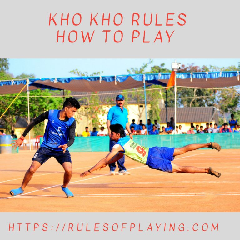 Kho Kho Rules : How to Play [ Scoring, Faults, Skills, Chasers, Defenders ]