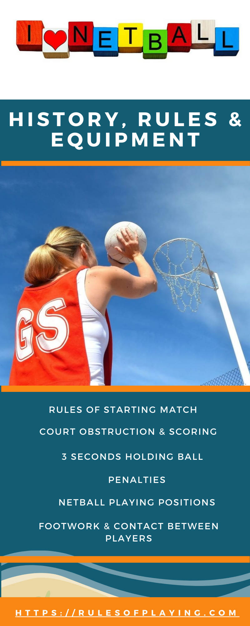 Netball Rules, Players Positions, Skills & Equipment