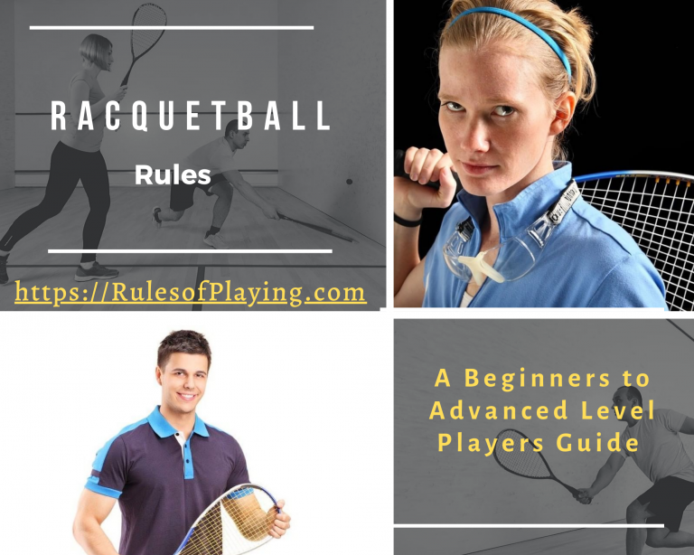 Racquetball Rules [ Scoring, Serving, Faults, hinders, Shot ] Expert Guide