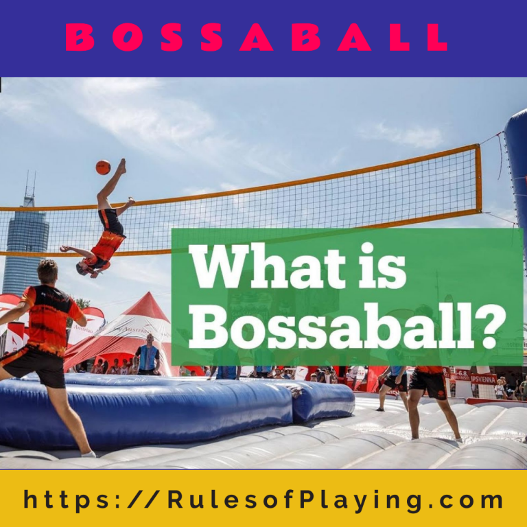 Bossaball: Rules to Play [ Court, Scoring, Faults, Skills ] Expert Guide 2021