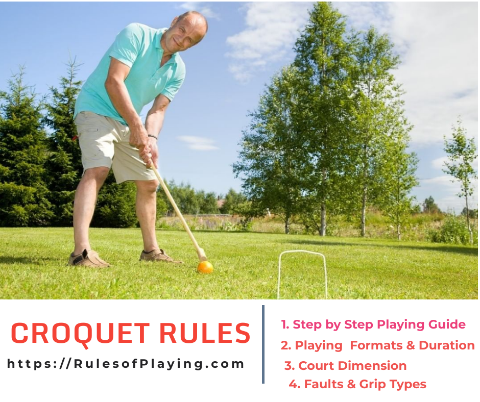Croquet Rules, How to Play Croquet