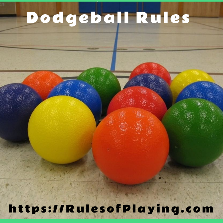 Dodgeball Rules | How to Play Dodgeball