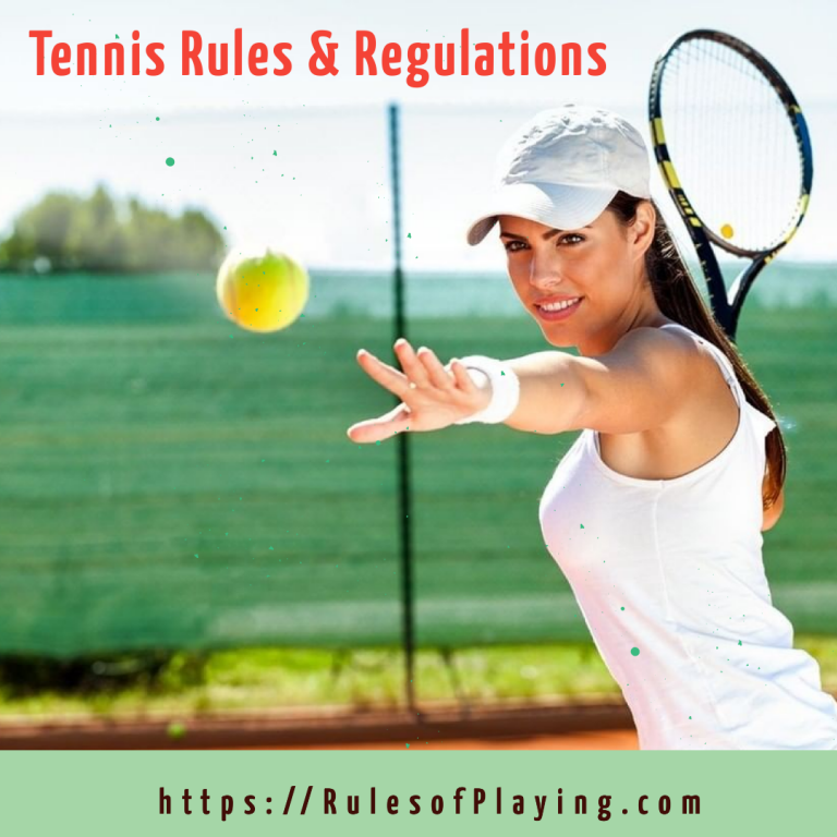 Tennis Rules [ Scoring, Rules for Singles & Doubles Tennis ] Expert Guide