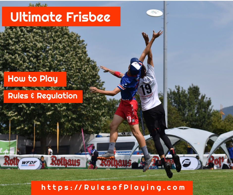Ultimate Frisbee Rules How to Play Ultimate Frisbee Guide