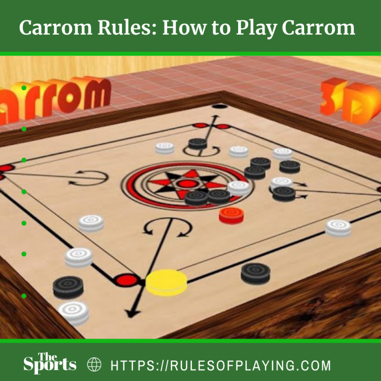 Carrom Board Rules [ Serving, Striking, Position, Faults ] Expert Guide